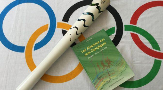 Original-Fackel der Olympischen Spiele von Rio de Janeiro 2016 bei den Olympischen Jugendtagen