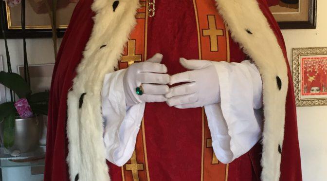 Auch der heilige Nikolaus sammelt Briefmarken…