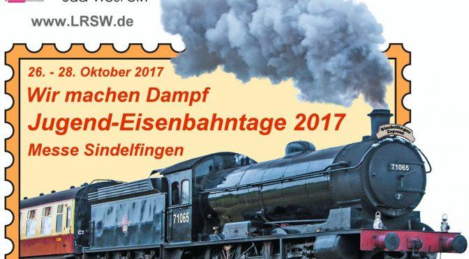 Die Jugend-Eisenbahntage haben Einfahrt!