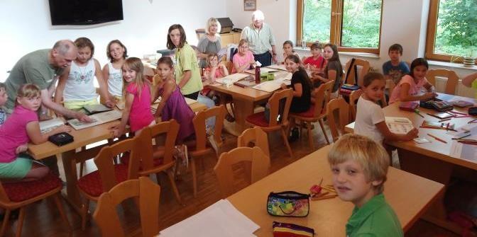 """""""Wir machen uns eine eigene Briefmarke!"""" – BMC Laichingen nahm am Ferienprogramm der Stadt teil"""