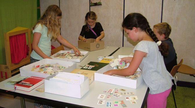 Briefmarken waren in Eningen heiß begehrt