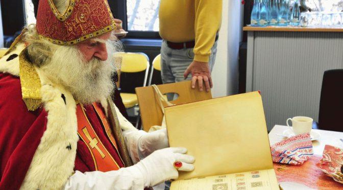 Was ist die schönste Briefmarke vom Nikolaus?