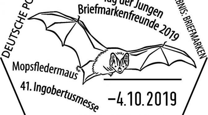 Die Fledermäuse sind unterwegs beim Tag der Jungen Briefmarkenfreunde 2019