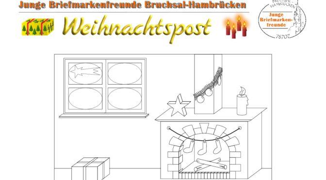 """Coronakonforme Werbeaktion """"Weihnachtspost"""" in Hambrücken"""